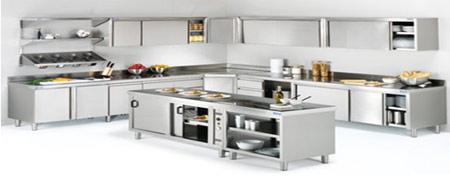 Grandes ventajas del uso del acero inoxidable en las for Articulos acero inoxidable para cocina