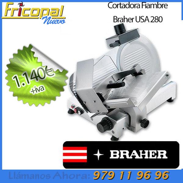 Precio comprar cortadora de embutido Braher