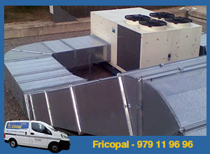 climatización recintos feriales