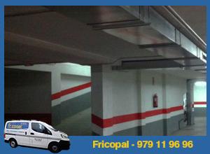 instalación extracción garajes Valladolid